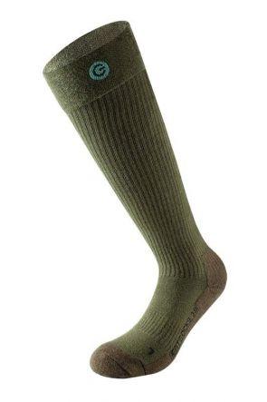 Lenz Heated Socks 1.0 or 3.0 Spare Pair Socks Olive