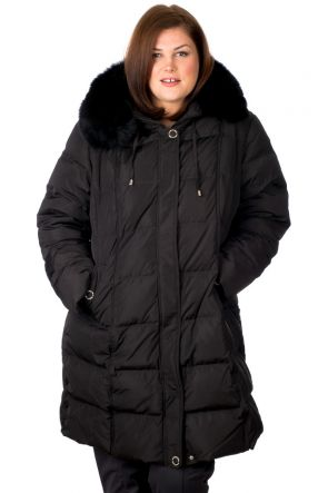 Flash Geo Judy Womens Snow Jacket Black - Front