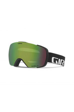 Giro Contact Vivid Emerald Mens Ski Goggle Black Wordmark 2018