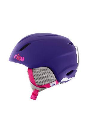 Giro Launch Kids Helmet Matte Purple Clouds 2016