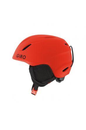 GIRO Launch Kids Unisex Ski Helmet Matte Vermillion