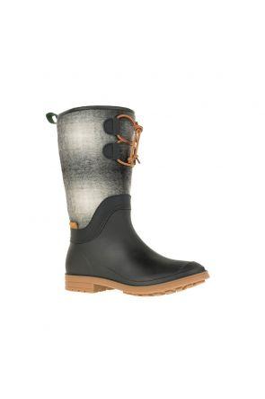 Kamik Abigail Womens Apres Snow Boot Black Grey 2019 Front