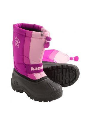 Kamik Freezone Kids Apres Snow Boot Fuchsia