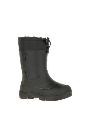 Kamik Snowbuster 1 Kids Apres Snow Boots Black 2020 front