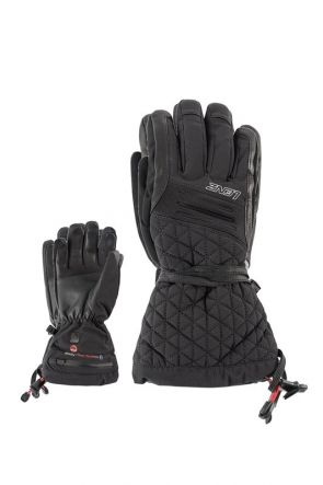Lenz Heated 4.0 Womens Snow Gloves Black 2019 front
