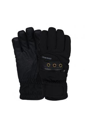 POW Astra Womens Waterproof Ski Glove Black