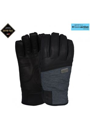 POW Empress GoreTex Womens Waterproof Leather Snow Glove Black