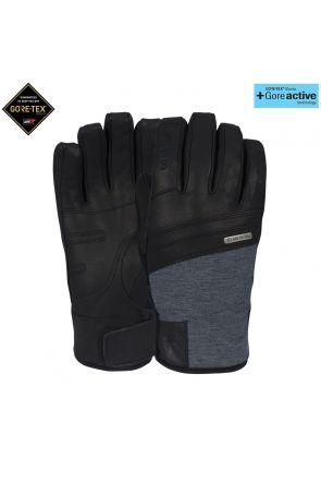 POW Royal GoreTex +Active Mens Snow Gloves Black
