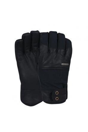 POW Tanto Waterproof Mens Ski Gloves Black