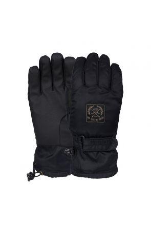 POW XG Mens Snow Mid Gloves Black