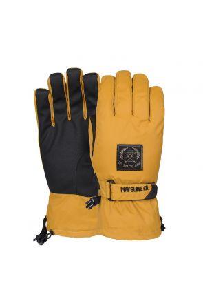 POW XG Mens Snow Mid Gloves Tobacco
