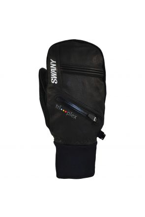 Swany X- Cell Womens Leather Ski Under Mitten Black