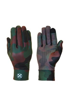 XTM Arctic Kids Liner Gloves Army Camo 2019 Pair