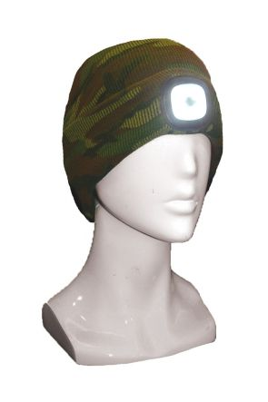 XTM Blinder Unisex LED Light Up Beanie Army Camo 2019 Side