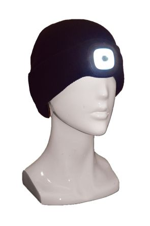 XTM Blinder Unisex LED Light Up Beanie Black Side