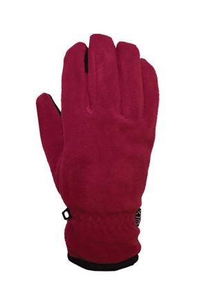 XTM Cruise Fleece Kids Gloves Deep Pink Single