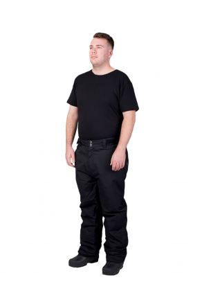 XTM Glide II Mens Plus Size Ski Pant Black