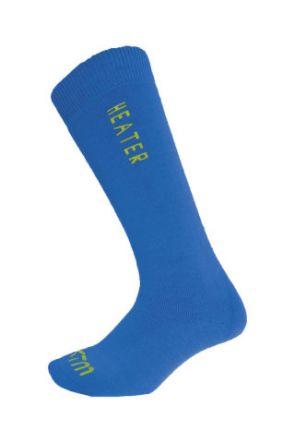 XTM Heater Wool Kids Ski Socks Blue 0-2 Years 2 PAIR PACK