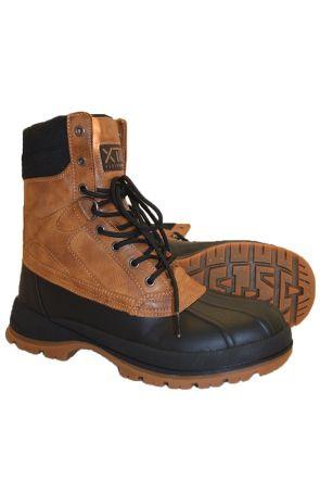 XTM Konrad Mens Après Snow Boots Brown Pair