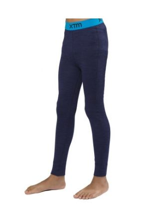 XTM Merino Wool Kids Thermal Pant Navy Marle 4-14 years 2019 front