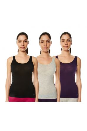 XTM Merino Wool Ladies Thermal Singlet All Colors