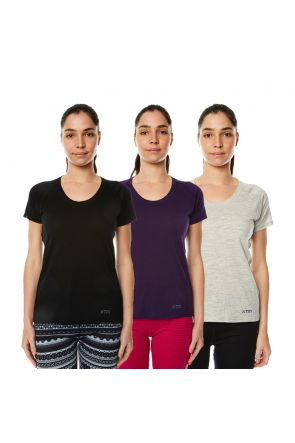 XTM Merino Wool Ladies Thermal T-Shirt All Colors