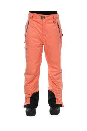 XTM Ninja Kids Teens Snow Pants Coral Front