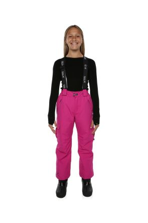 XTM Scoobie Kids Ski or Snowboard Pant Berry Pink Front