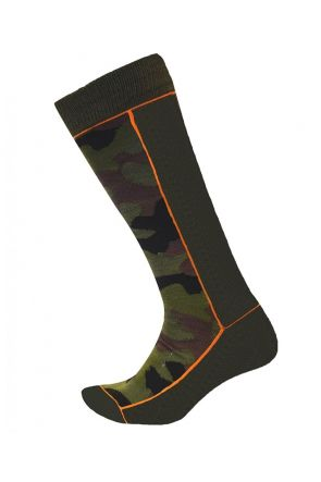 XTM Tooper Unisex Adults Ski Socks Army Camo