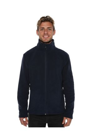 XTM Voyage Mens Snow Fleece Jacket Navy Marle Front