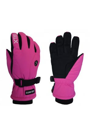 XTM Whistler Kids Ski Glove Hot Pink (8-14 years) 2019 Double